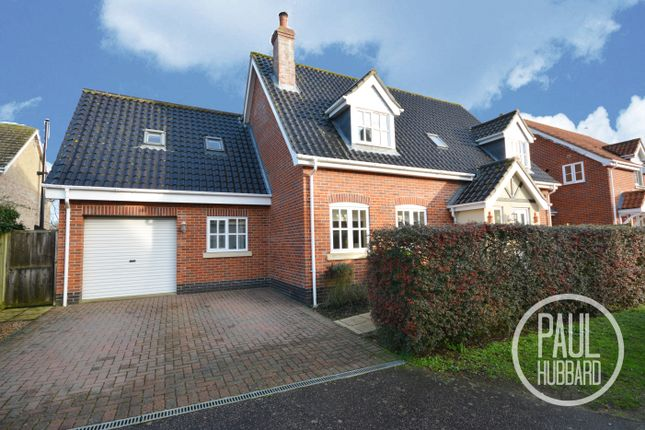 Thumbnail Detached house for sale in Old Farm Road, Beccles, Suffolk