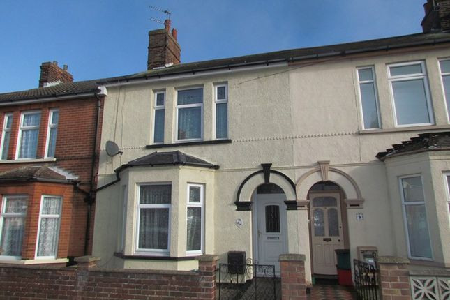 Thumbnail Terraced house to rent in Park Road, Dovercourt, Harwich