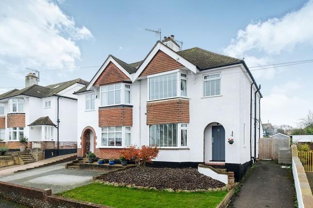 Thumbnail Semi-detached house for sale in Deakin Leas, Tonbridge, Kent