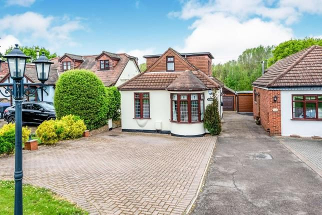 Thumbnail Bungalow for sale in Havering-Atte-Bower, Romford, Havering