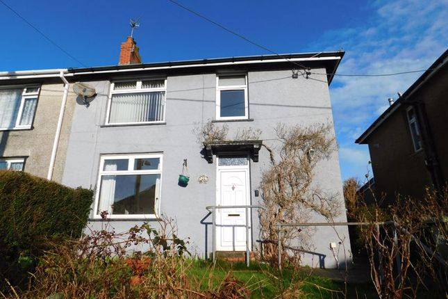 Thumbnail Semi-detached house for sale in Bryncoed Terrace, Penpedairheol, Hengoed