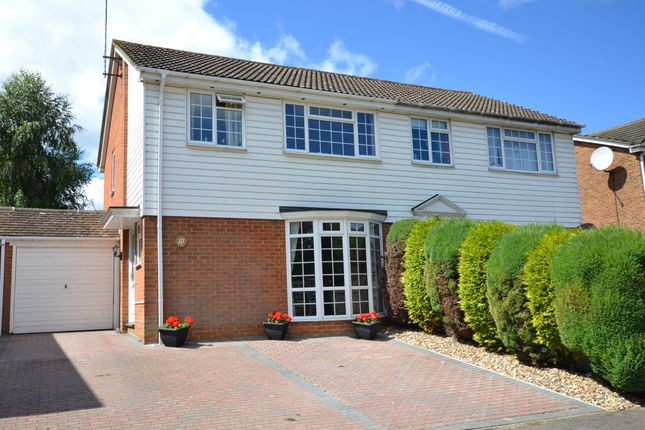 Thumbnail Detached house for sale in Lombardy Close, Hempstead