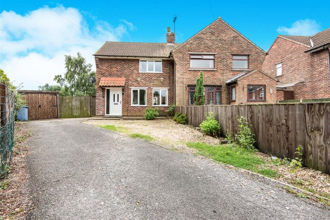 Thumbnail End terrace house for sale in Orchard Crescent, Tuxford, Newark
