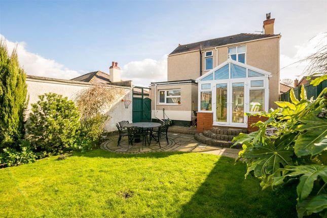 Thumbnail Detached house for sale in Moorfield Road, Hawarden, Deeside