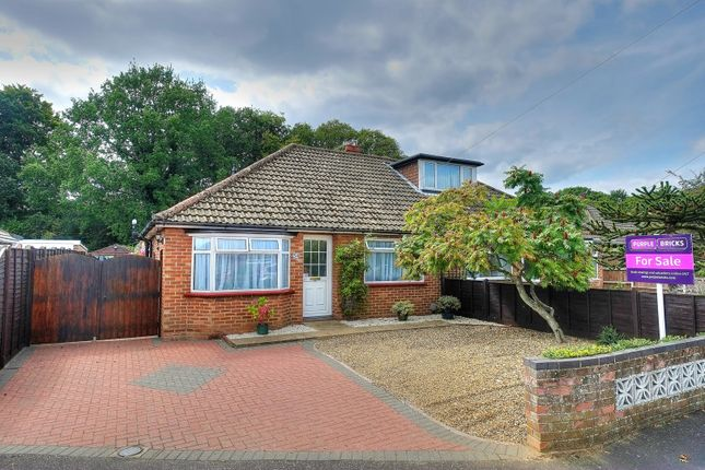 Thumbnail Semi-detached bungalow for sale in Thornham Road, Norwich