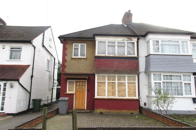 Semi-detached house for sale in Carlton Avenue East, Wembley