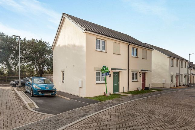 Thumbnail Semi-detached house for sale in Chapel Court, Pengegon Way, Pengegon, Camborne