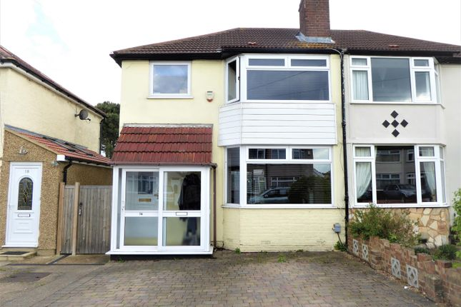 3 bed semi-detached house for sale in St Audrey Avenue, Bexleyheath, Kent
