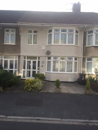 Thumbnail Terraced house to rent in Redcatch, Bristol