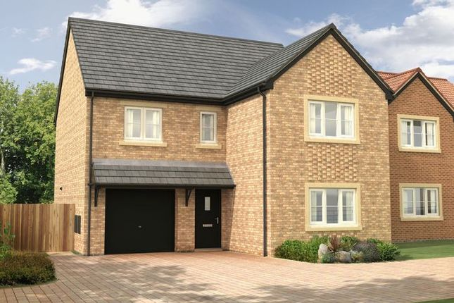 Thumbnail Detached house for sale in The Oak At Nursery Gardens, Stannington, Morpeth - (1943 Sq.Ft.)