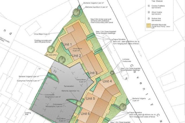 Thumbnail Land for sale in Site Adjoining 47, Richmond Road, Atherstone