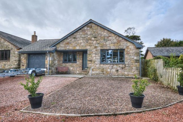 Thumbnail Bungalow for sale in North Bank, Belford, Northumberland