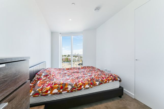 Bedroom of Sky Gardens, Nine Elms, London SW8