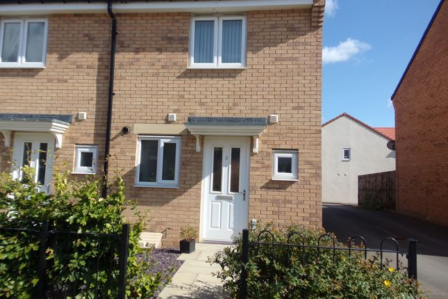 Thumbnail Terraced house to rent in Haltwhistle Meadows, Blyth