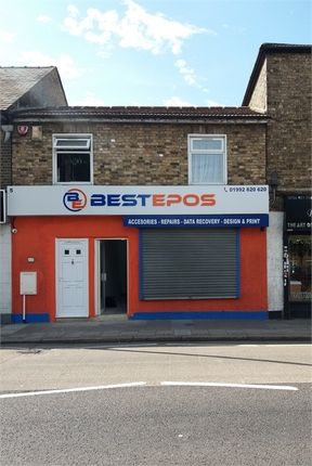 Thumbnail Commercial property to let in High Street, Cheshunt, Waltham Cross, Hertfordshire