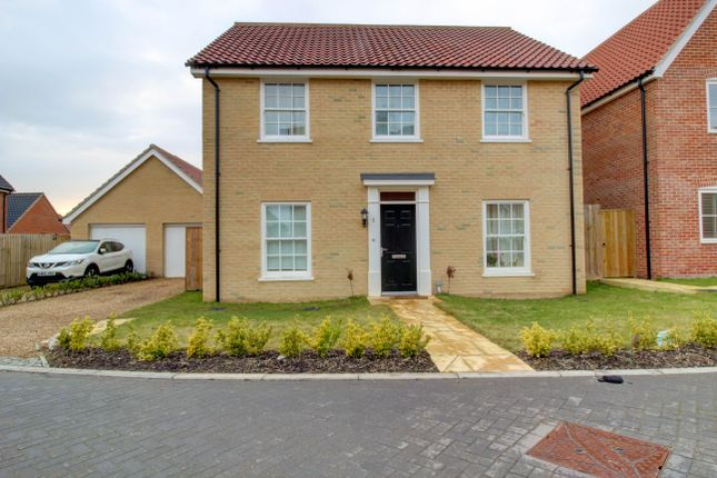 Thumbnail Detached house for sale in Dudley Close, Watton, Thetford