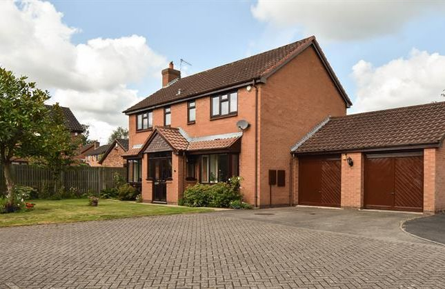 Thumbnail Detached house for sale in Planetree Close, Bromsgrove