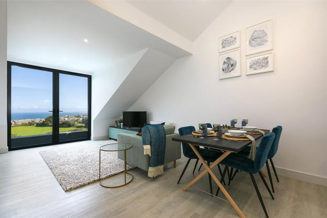 Thumbnail Flat for sale in St. Ives Road, Carbis Bay, St. Ives, Cornwall