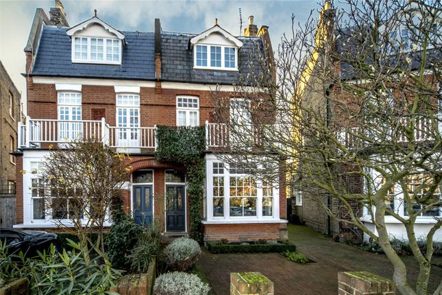 Thumbnail Semi-detached house to rent in Lawn Crescent, Kew, Richmond, Surrey