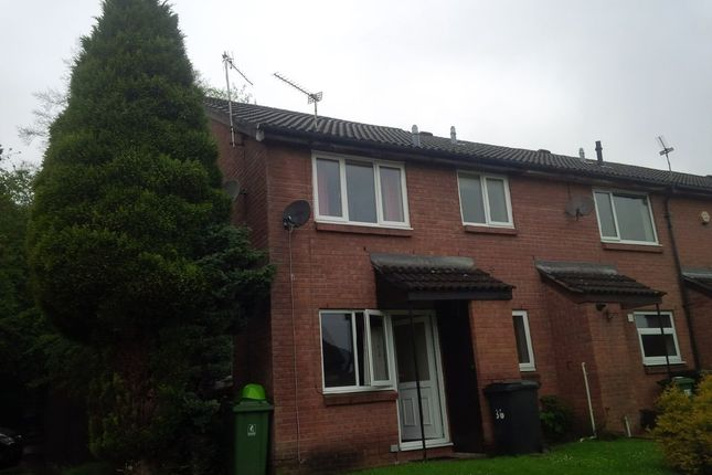 Thumbnail End terrace house to rent in Open Hearth Close, Griffithstown, Pontypool