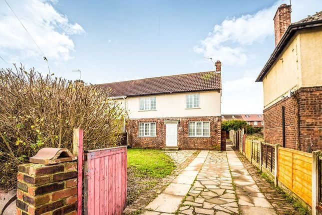 Thumbnail Semi-detached house for sale in Third Avenue, Woodlands, Doncaster