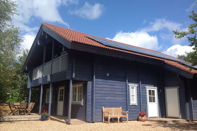 Thumbnail Lodge for sale in Robins Lodge, High End Eco Lodge, Mill Meadow, Taunton