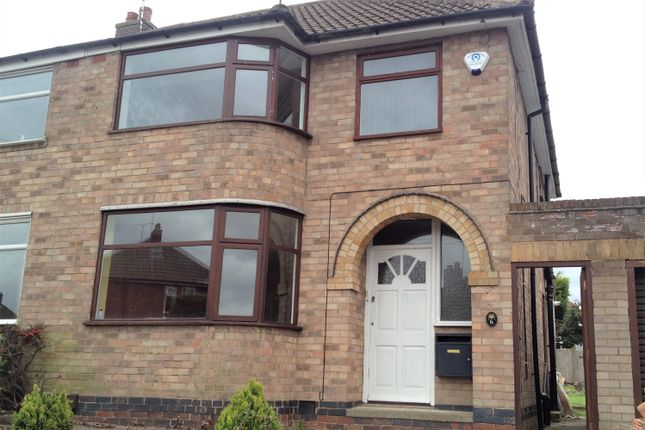 Thumbnail Semi-detached house for sale in Knollgate Close, Birstall, Leicester