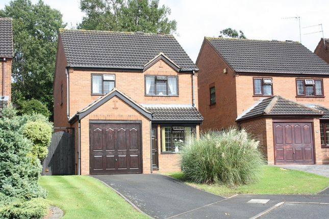 Thumbnail Detached house to rent in Duxford Close, Headless Cross, Redditch