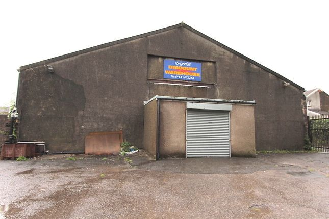 Thumbnail Retail premises to let in Discount Warehouse, Tonyrefail -, Porth