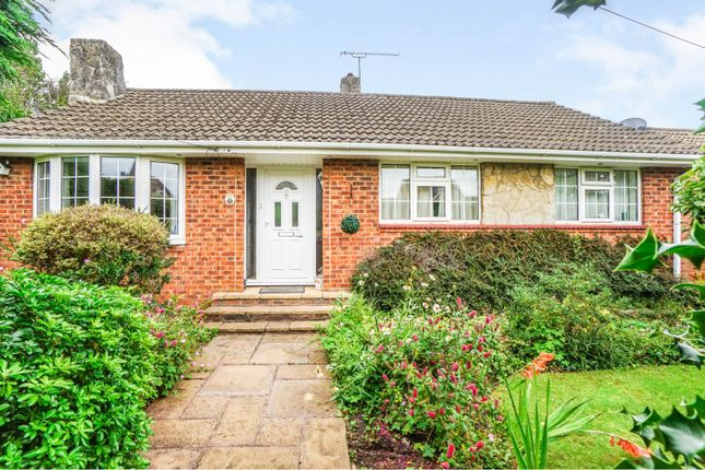 Thumbnail Detached bungalow for sale in Lacon Close, Southampton