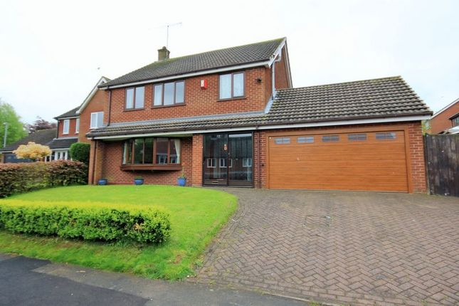 4 bed detached house for sale in Tudor Hollow, Fulford, Stoke-On-Trent