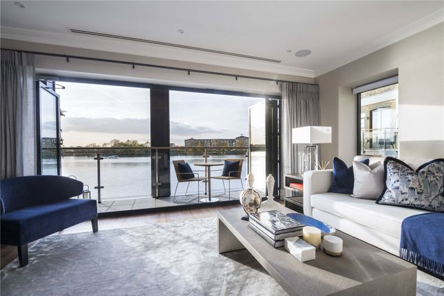 Thumbnail End terrace house for sale in Palace Wharf, Rainville Road, Fulham, London
