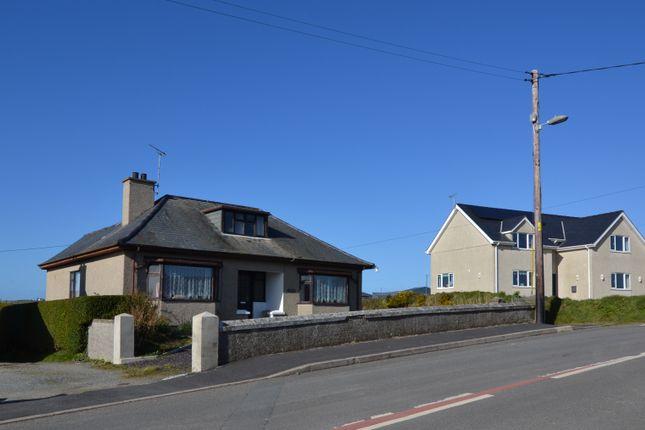 Thumbnail Detached bungalow for sale in Aberdaron, Pwllheli