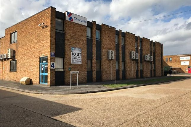Thumbnail Light industrial to let in Unit 4, International Trading Estate, Trident Way, Southall, Middlesex