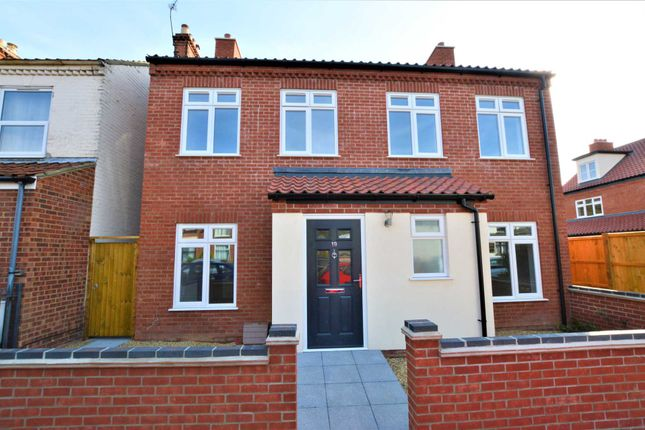 Thumbnail Detached house for sale in Leopold Road, Norwich