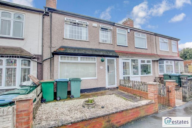 3 bed terraced house for sale in Meadow Road, Holbrooks, Coventry CV6
