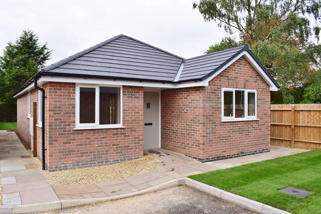 Thumbnail Detached bungalow for sale in Hind Close, Main Street, Kinoulton