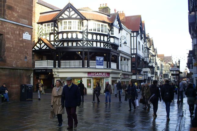 Thumbnail Restaurant/cafe to let in Eastgate Row, Chester
