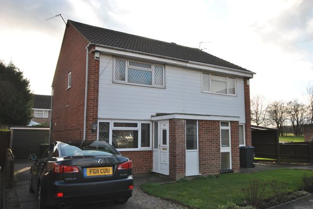 Thumbnail Semi-detached house to rent in Latimer Drive, Bramcote