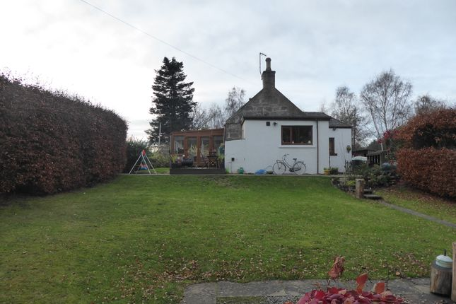 Thumbnail Semi-detached bungalow for sale in Forestry Cottages, Newton, By Elgin