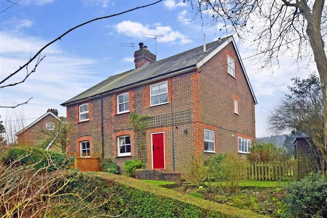 Thumbnail Semi-detached house for sale in Bones Lane, Buriton, Petersfield, Hampshire