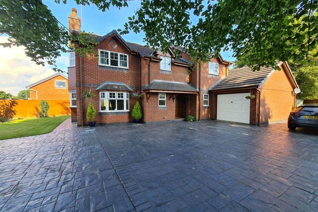 Thumbnail Detached house for sale in Grange Court, Stansty Road, Wrexham