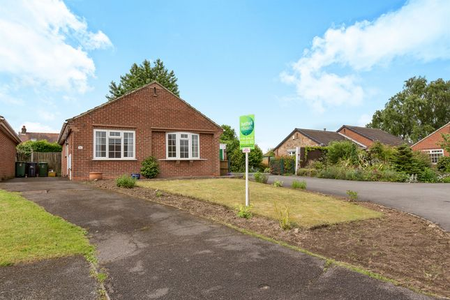 Thumbnail Detached bungalow for sale in Larch Road, Kilburn, Belper
