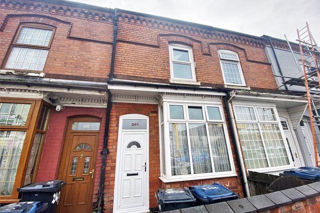 Thumbnail Terraced house for sale in Bordesley Green, Bordesley Green, Birmingham