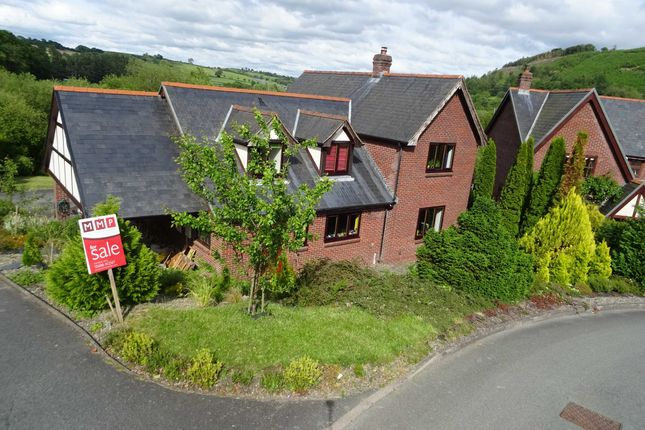 Thumbnail Detached house for sale in Parc Llwyn, Llanidloes, Powys