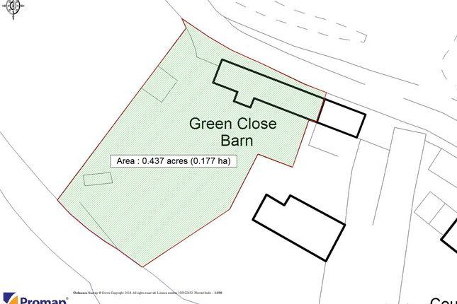 Site Plan of Hinton, Mudford, Yeovil, Somerset BA22