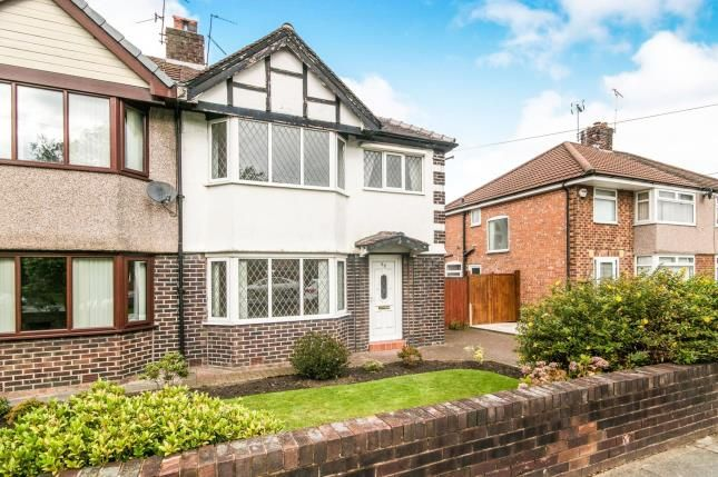 Thumbnail Semi-detached house for sale in Brimstage Road, Bebington, Wirral, Merseyside