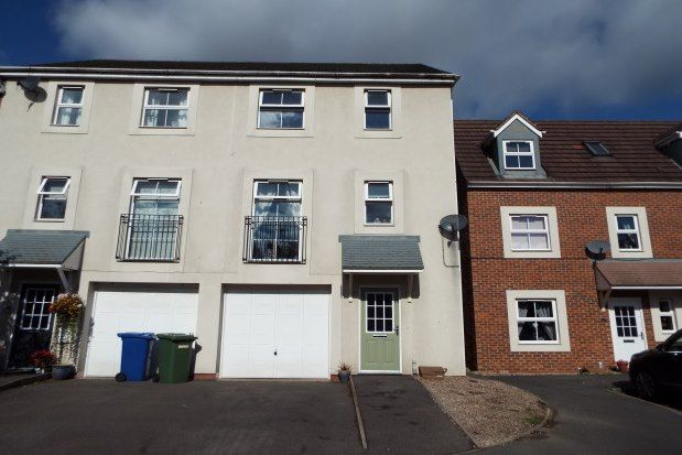 Thumbnail Town house to rent in Railway View, Cannock