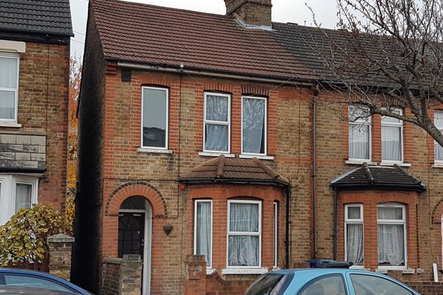 Thumbnail End terrace house to rent in Lea Road, Southall