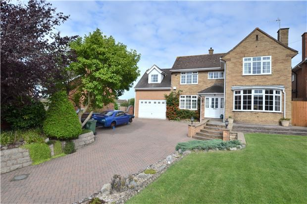 Thumbnail Detached house for sale in Painswick Road, Gloucester